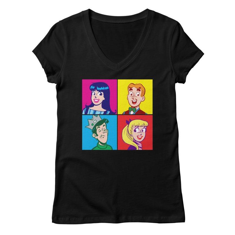 Pop Art Archie Women's V-Neck by Archie Comics
