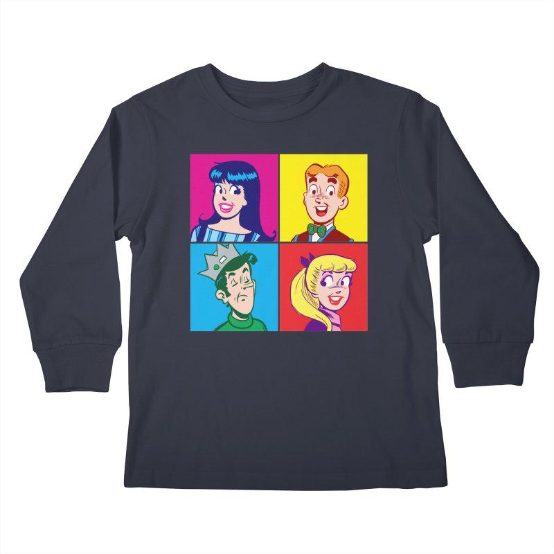 Pop Art Archie Kids Longsleeve T-Shirt by Archie Comics