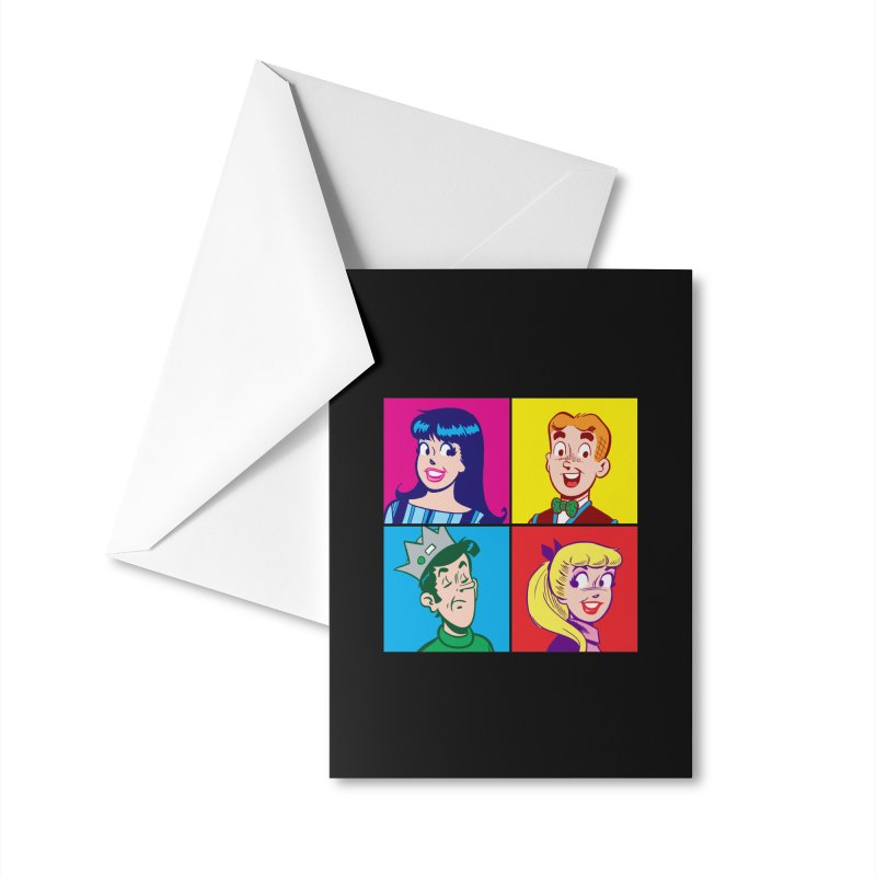 Pop Art Archie Accessories Greeting Card by Archie Comics