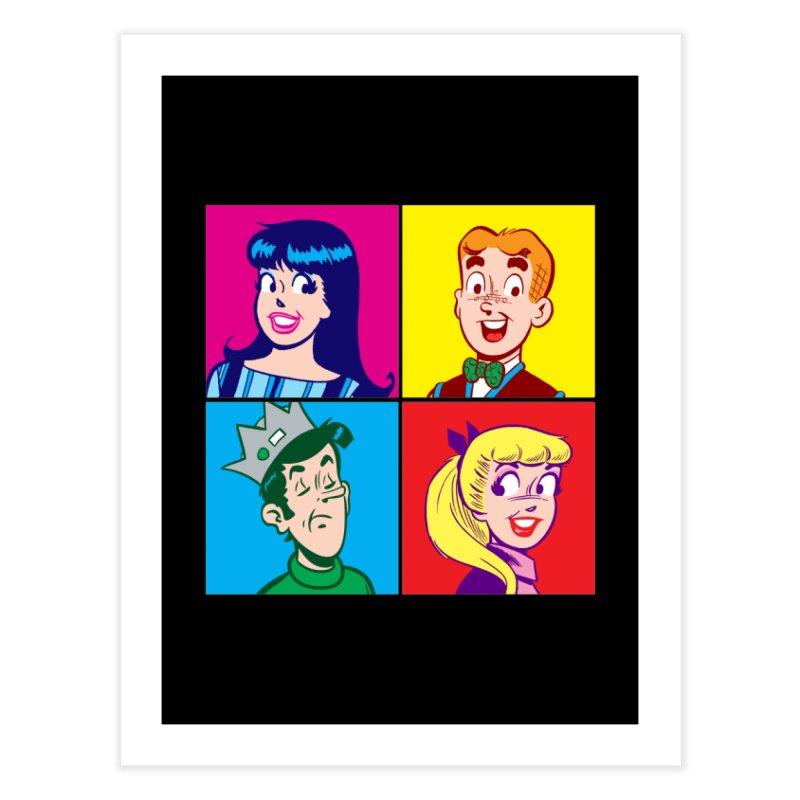 Pop Art Archie Home Fine Art Print by Archie Comics