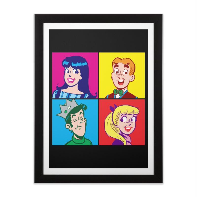 Pop Art Archie Home Framed Fine Art Print by Archie Comics