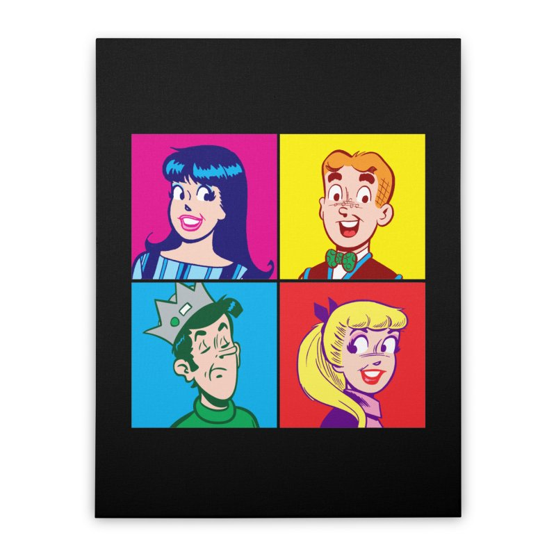 Pop Art Archie Home Stretched Canvas by Archie Comics