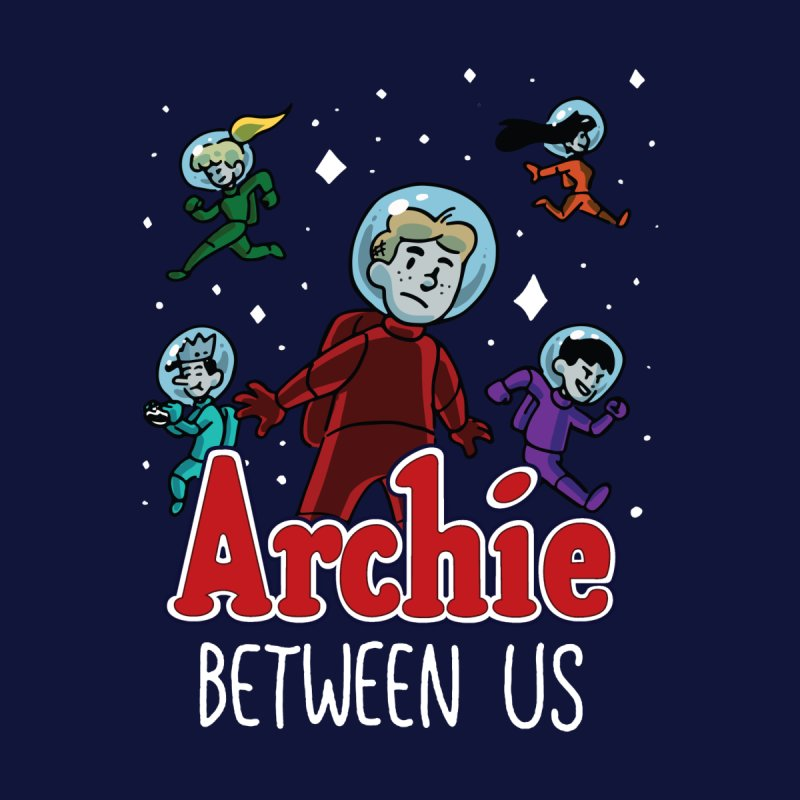 Archie Between Us Home Shower Curtain by Archie Comics