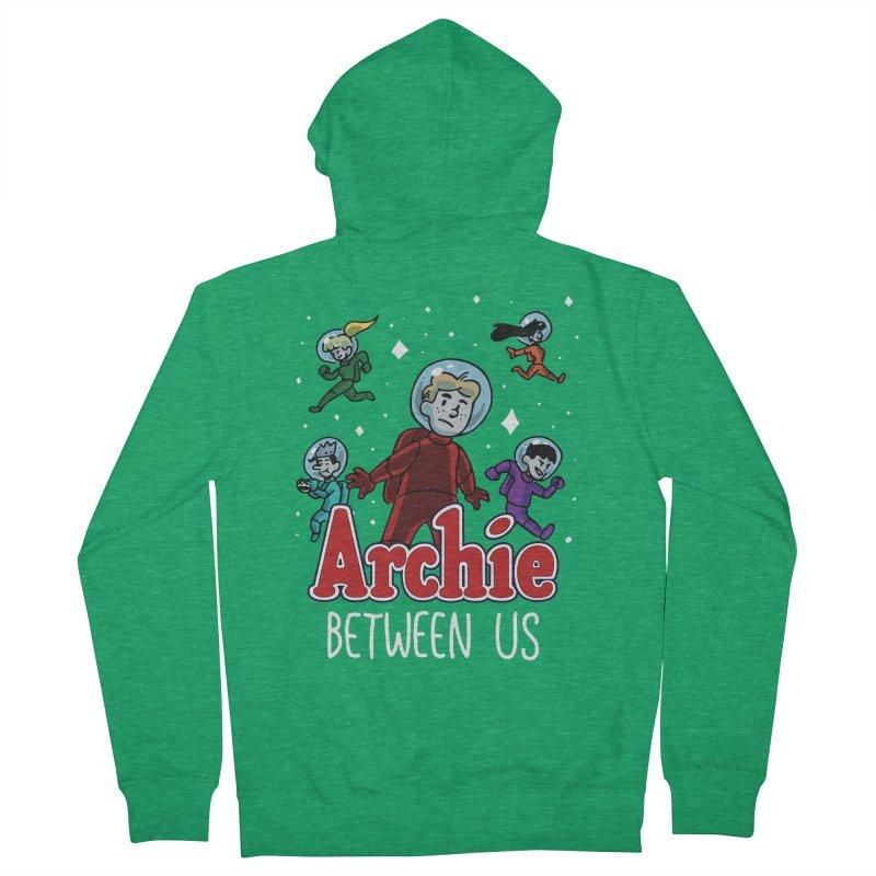 Archie Between Us Men's Zip-Up Hoody by Archie Comics