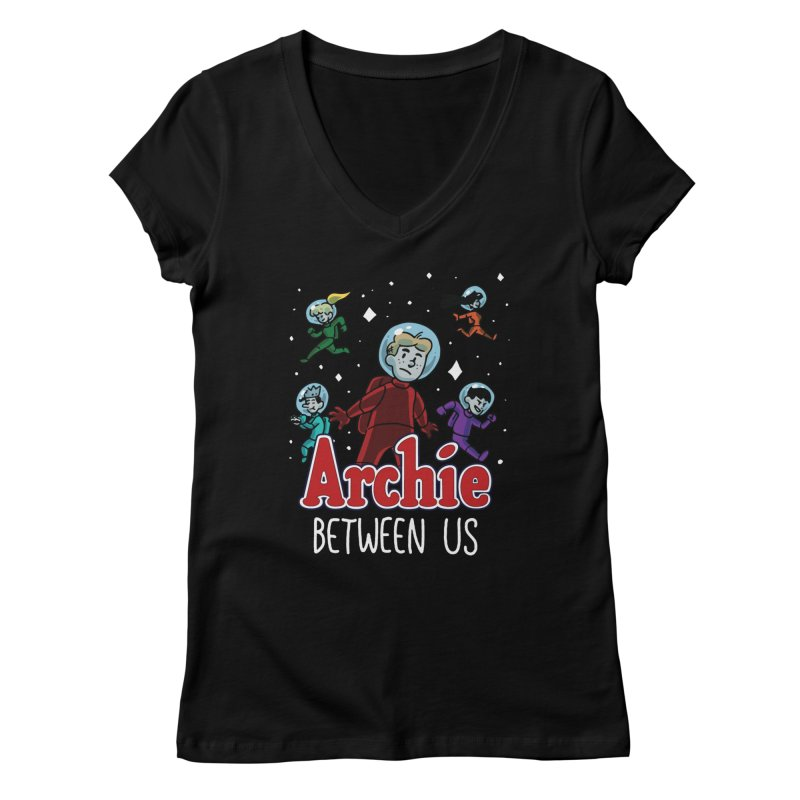 Archie Between Us Women's V-Neck by Archie Comics