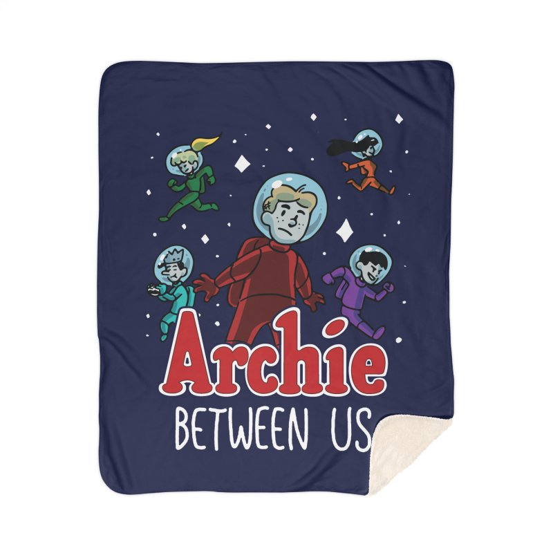 Archie Between Us Home Blanket by Archie Comics