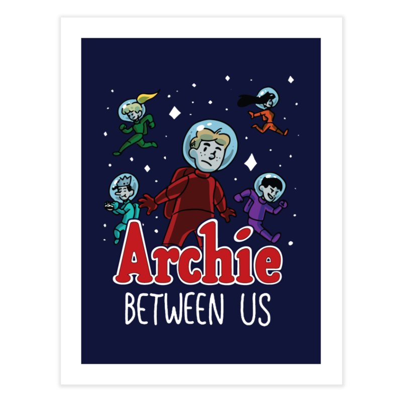 Archie Between Us Home Fine Art Print by Archie Comics