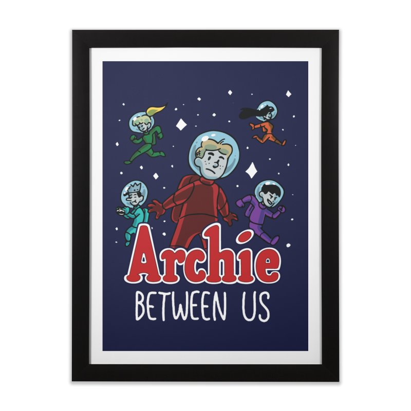 Archie Between Us Home Framed Fine Art Print by Archie Comics