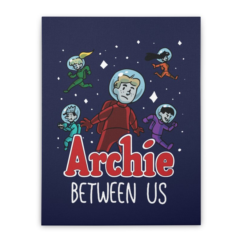 Archie Between Us Home Stretched Canvas by Archie Comics