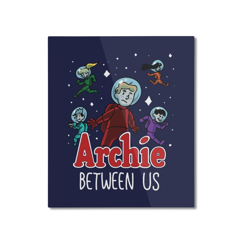 Archie Between Us Home Mounted Aluminum Print by Archie Comics