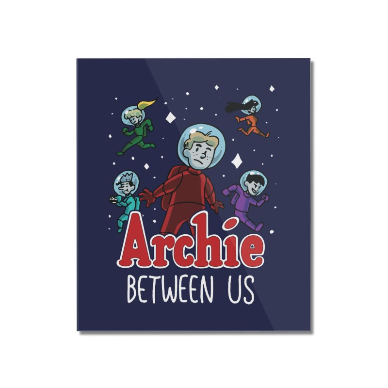 Archie Between Us Home Mounted Acrylic Print by Archie Comics