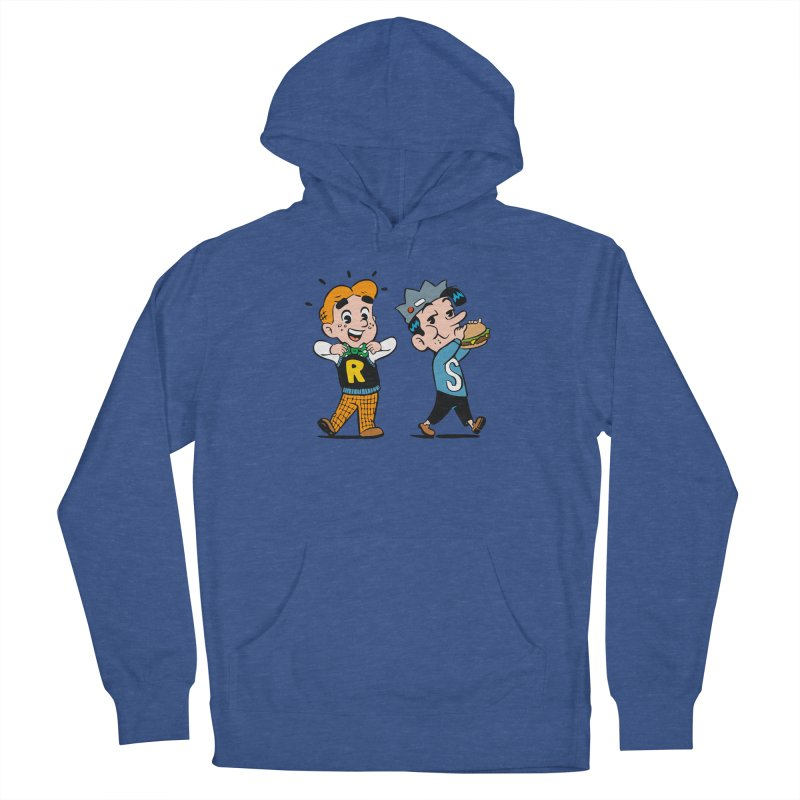Bite Sized Archie And Jughead Men's Pullover Hoody by Archie Comics