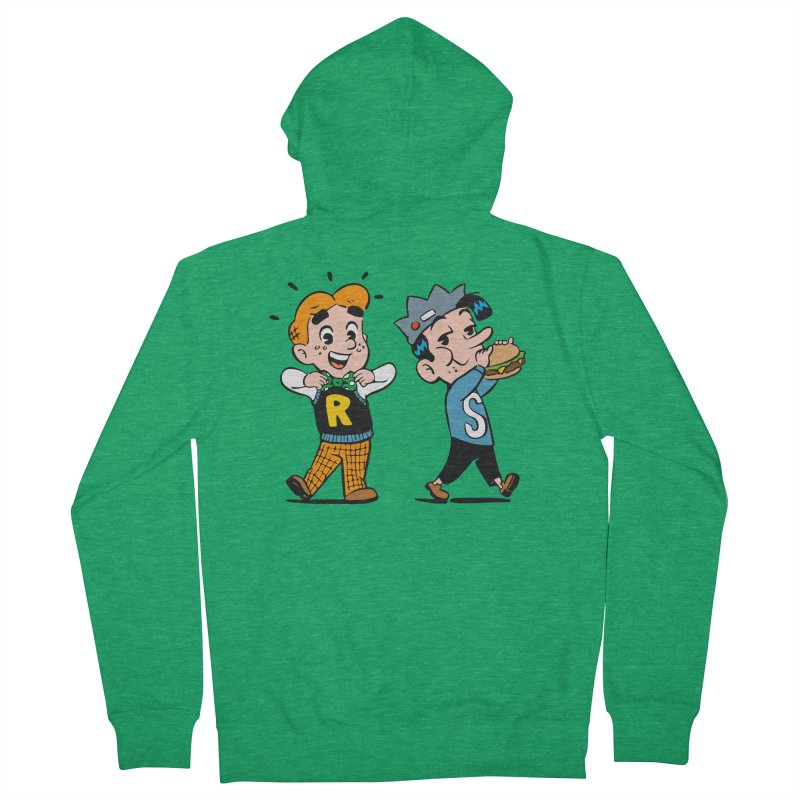 Bite Sized Archie And Jughead Women's Zip-Up Hoody by Archie Comics