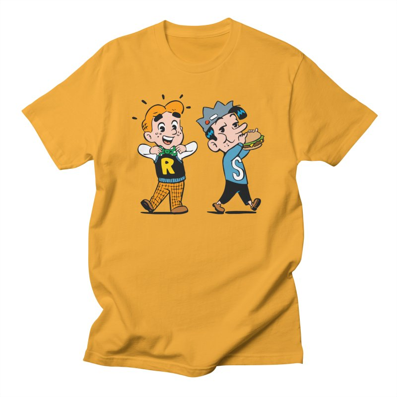 Bite Sized Archie And Jughead Men's T-Shirt by Archie Comics