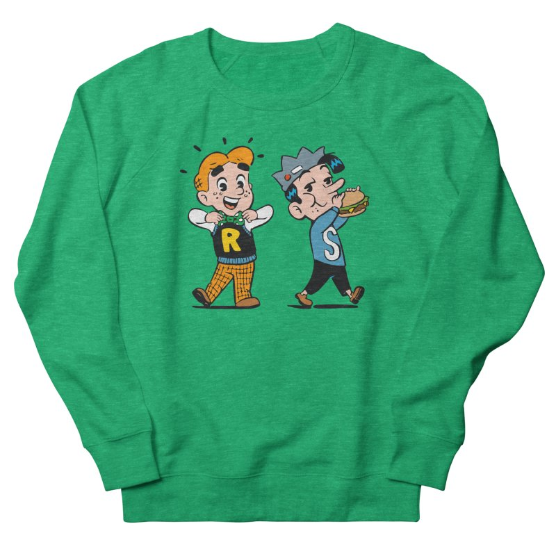 Bite Sized Archie And Jughead Women's Sweatshirt by Archie Comics