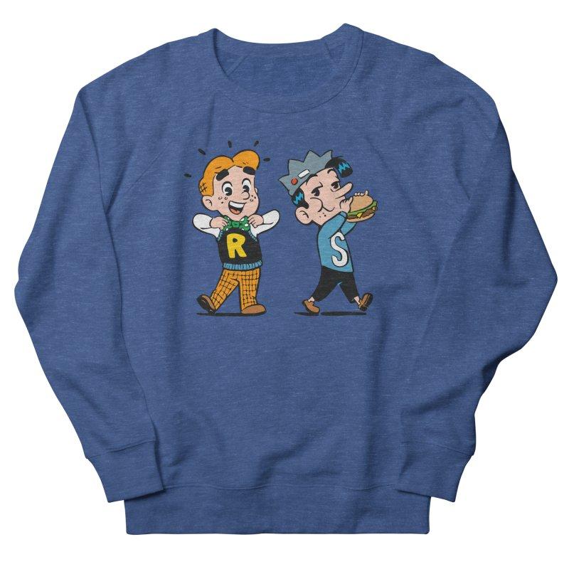 Bite Sized Archie And Jughead Men's Sweatshirt by Archie Comics