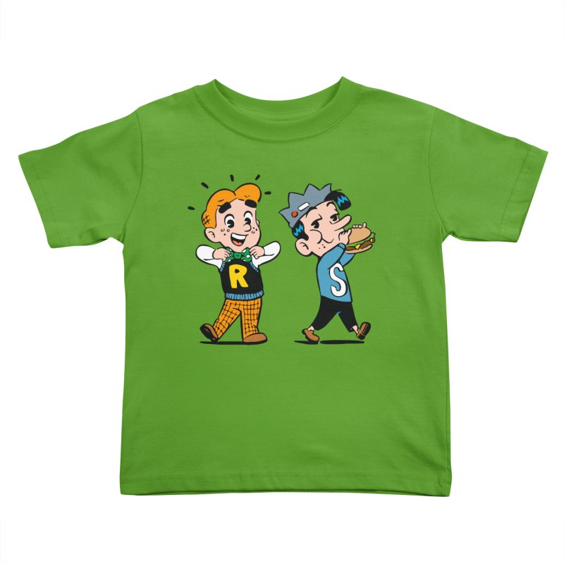 Bite Sized Archie And Jughead Kids Toddler T-Shirt by Archie Comics