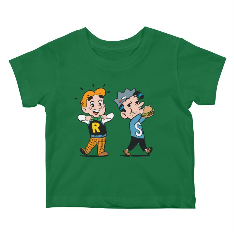 Bite Sized Archie And Jughead Kids Baby T-Shirt by Archie Comics
