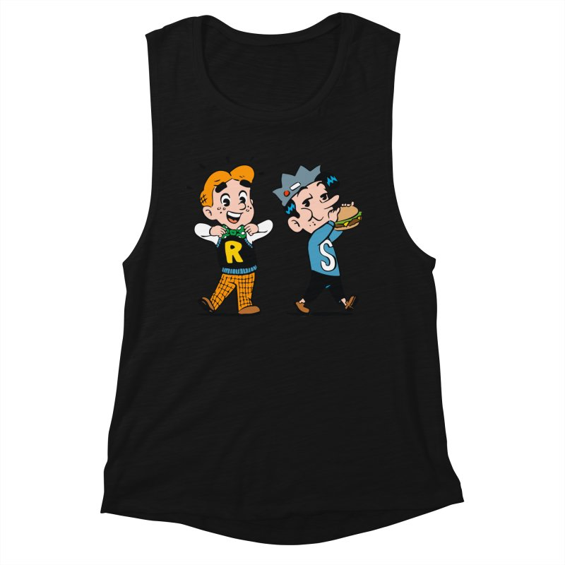 Bite Sized Archie And Jughead Women's Tank by Archie Comics