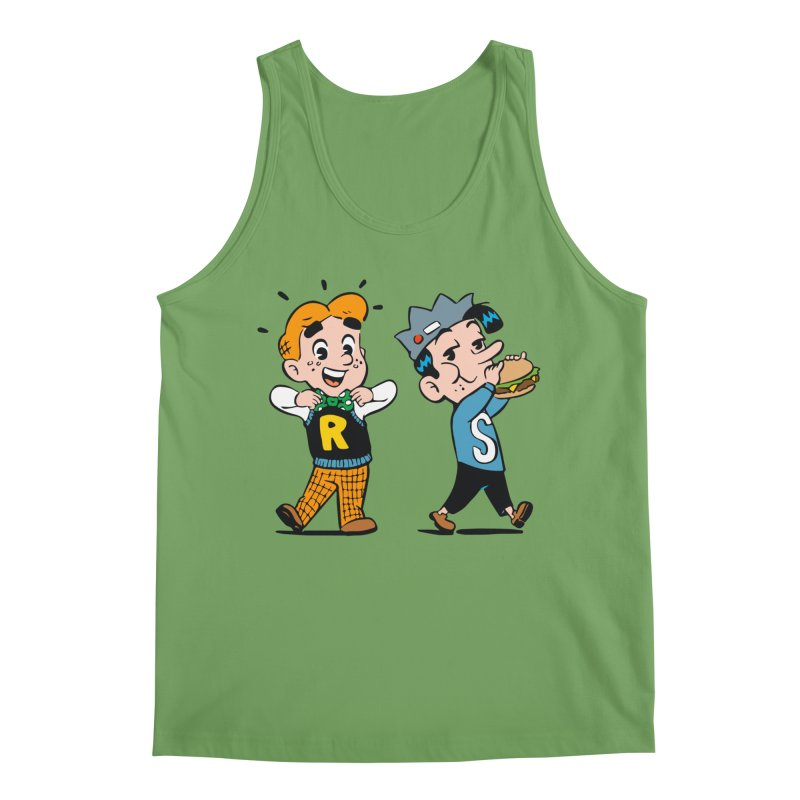 Bite Sized Archie And Jughead Men's Tank by Archie Comics