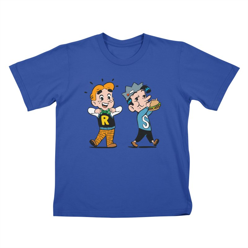 Bite Sized Archie And Jughead Kids T-Shirt by Archie Comics