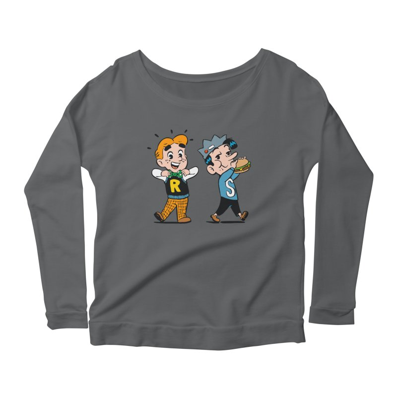 Bite Sized Archie And Jughead Women's Longsleeve T-Shirt by Archie Comics