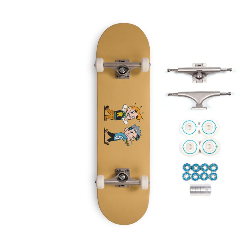 Bite Sized Archie And Jughead Accessories Skateboard by Archie Comics