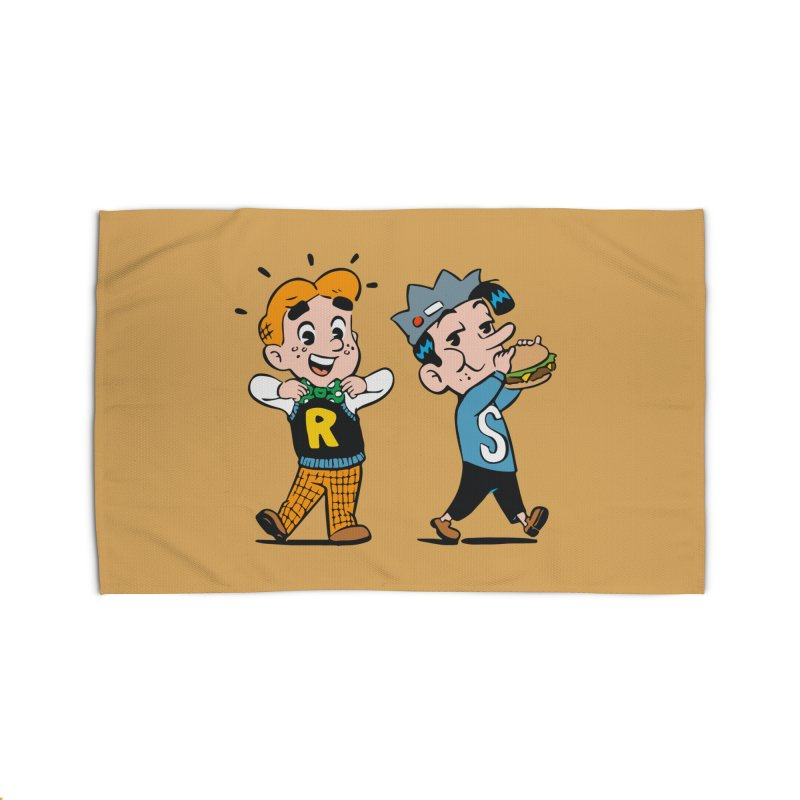 Bite Sized Archie And Jughead Home Rug by Archie Comics