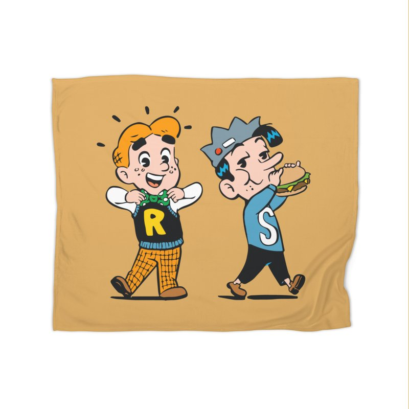 Bite Sized Archie And Jughead Home Blanket by Archie Comics