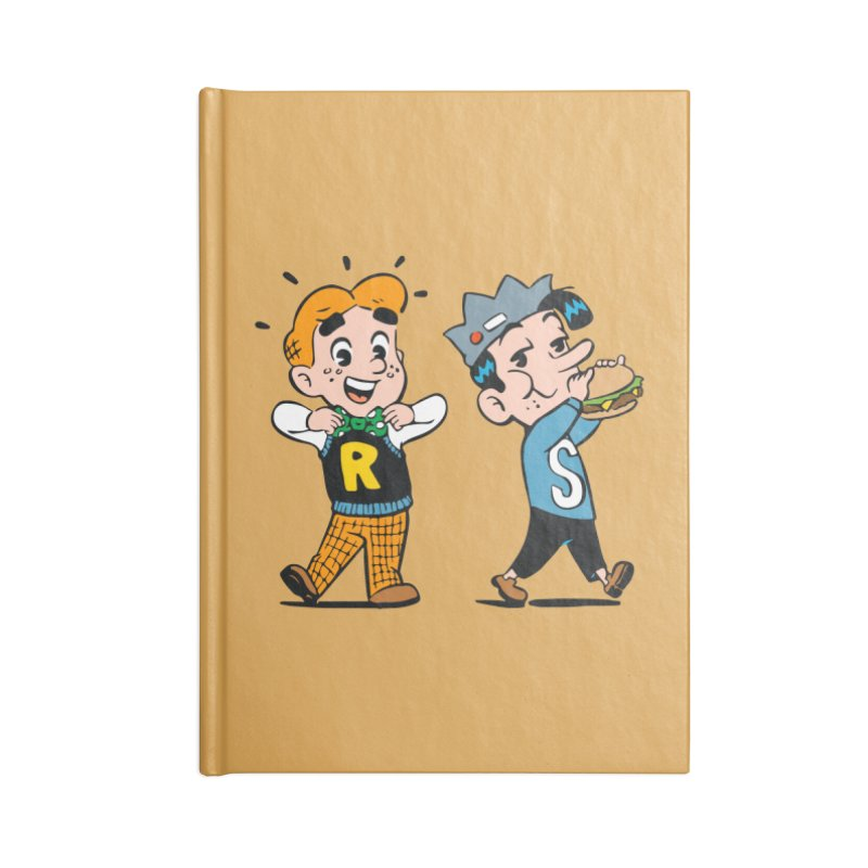 Bite Sized Archie And Jughead Accessories Notebook by Archie Comics