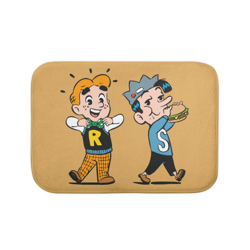 Bite Sized Archie And Jughead Home Bath Mat by Archie Comics