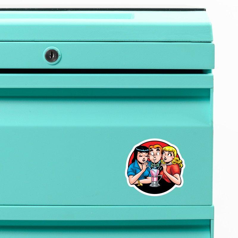 Classic Milkshake Accessories Magnet by Archie Comics