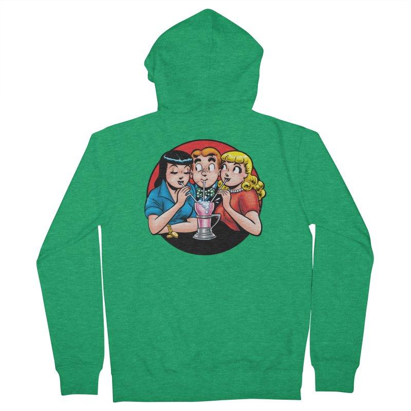 Classic Milkshake Men's Zip-Up Hoody by Archie Comics