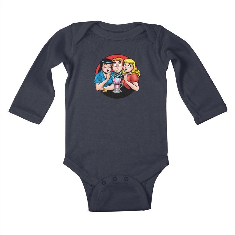 Classic Milkshake Kids Baby Longsleeve Bodysuit by Archie Comics