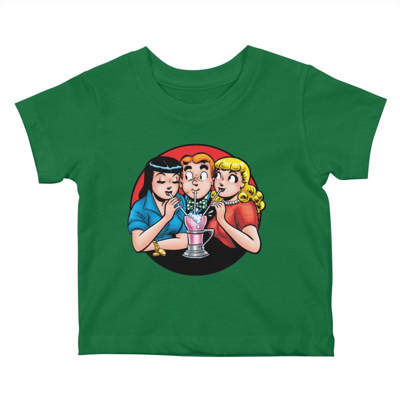 Classic Milkshake Kids Baby T-Shirt by Archie Comics