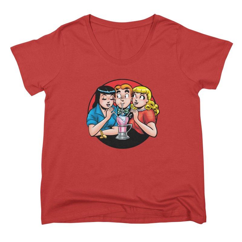 Classic Milkshake Women's Scoop Neck by Archie Comics