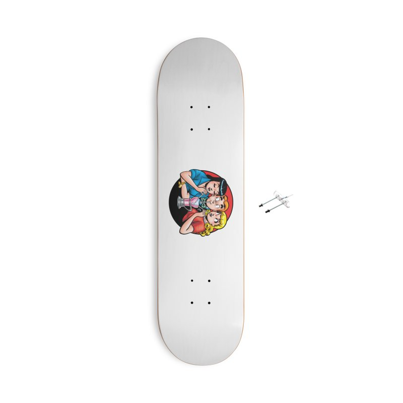 Classic Milkshake Accessories Skateboard by Archie Comics