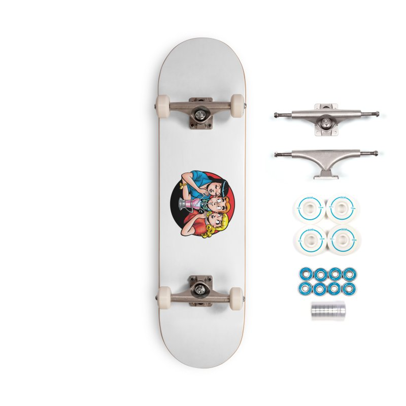 Classic Milkshake Accessories Skateboard by Archie Comics