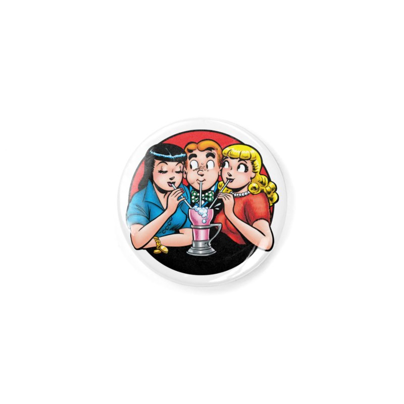 Classic Milkshake Accessories Button by Archie Comics