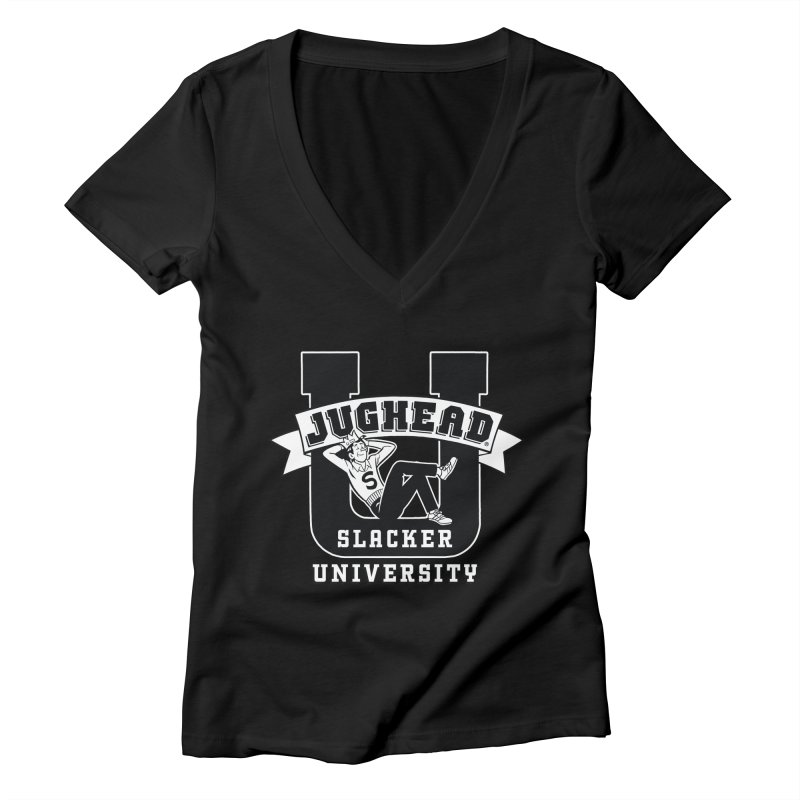 Jughead Slacker University Women's V-Neck by Archie Comics