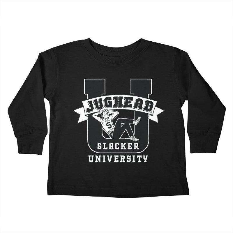 Jughead Slacker University Kids Toddler Longsleeve T-Shirt by Archie Comics