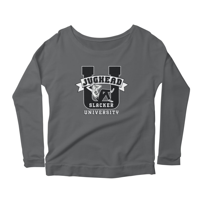 Jughead Slacker University Women's Longsleeve T-Shirt by Archie Comics