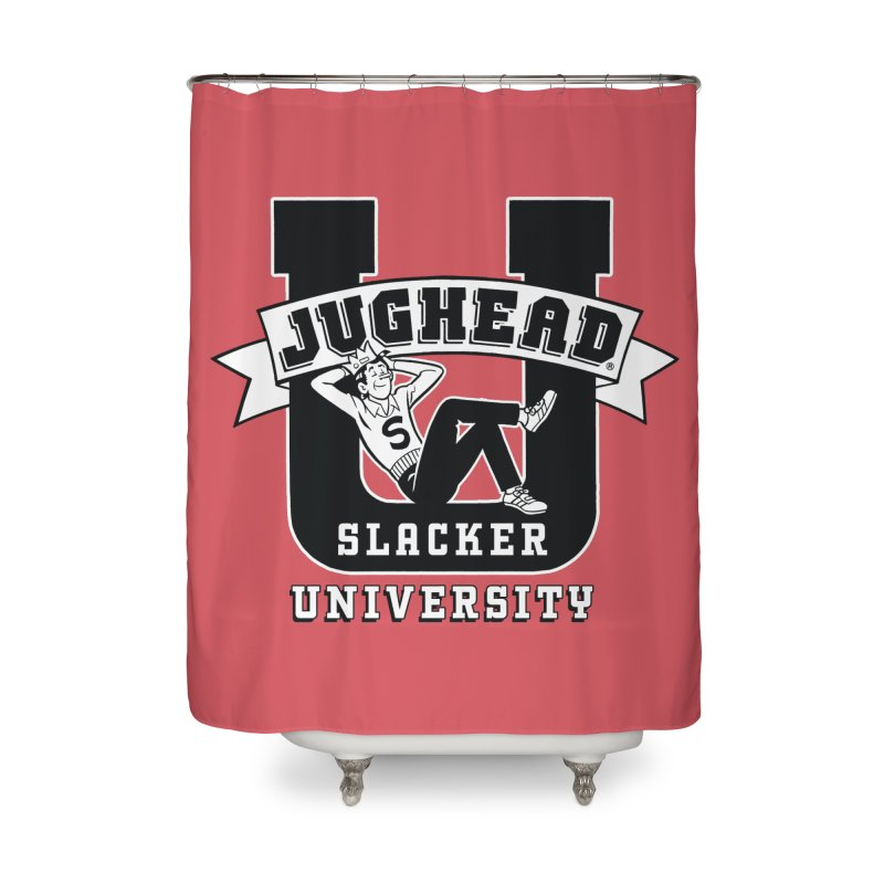 Jughead Slacker University Home Shower Curtain by Archie Comics