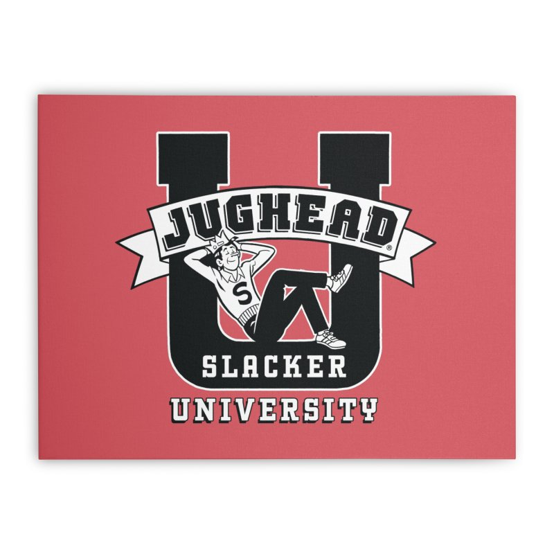 Jughead Slacker University Home Stretched Canvas by Archie Comics