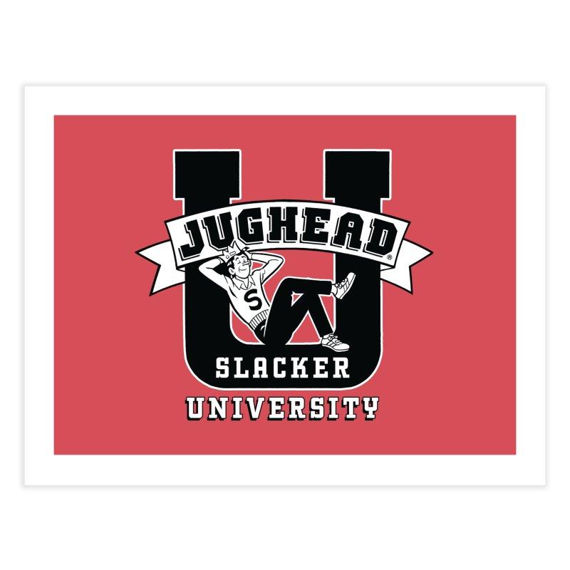 Jughead Slacker University Home Fine Art Print by Archie Comics