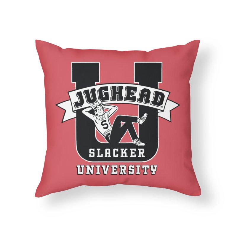 Jughead Slacker University Home Throw Pillow by Archie Comics