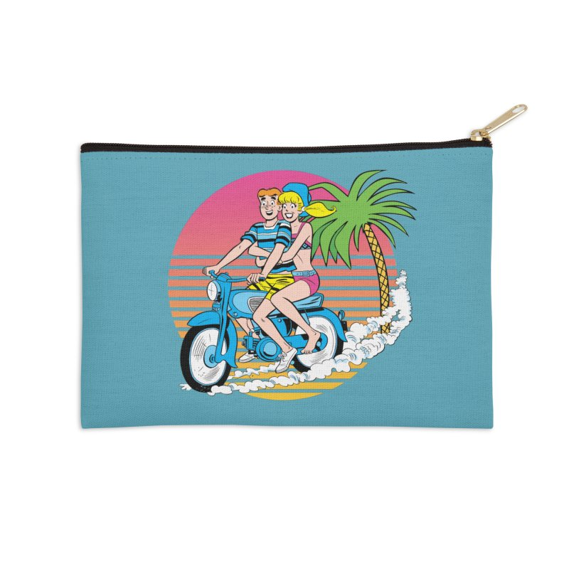 Betty And Archie Summer Fun Accessories Zip Pouch by Archie Comics
