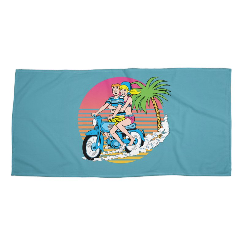 Betty And Archie Summer Fun Accessories Beach Towel by Archie Comics
