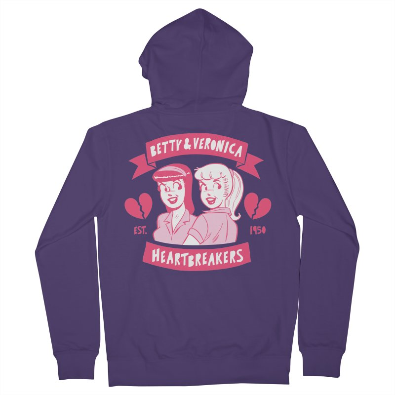 Heartbreakers Women's French Terry Zip-Up Hoody by Archie Comics