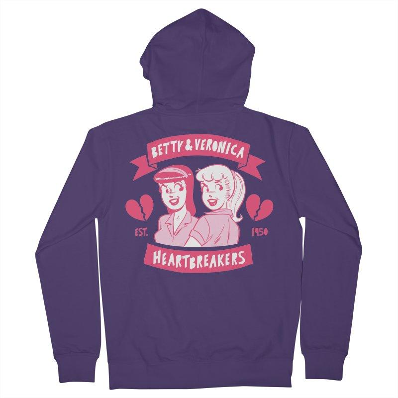 Heartbreakers Women's Zip-Up Hoody by archiecomics's Artist Shop